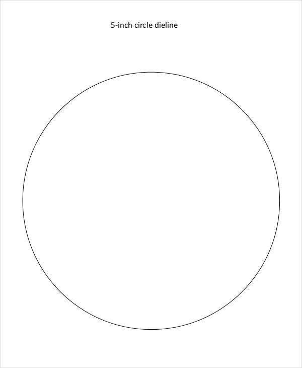 image relating to 5 Inch Circle Template Printable identify 11+ Circle Template Totally free Top quality Templates