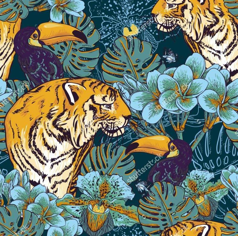 19  jungle patterns