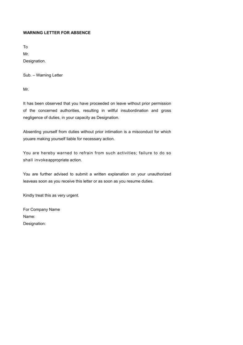 format formal business letter