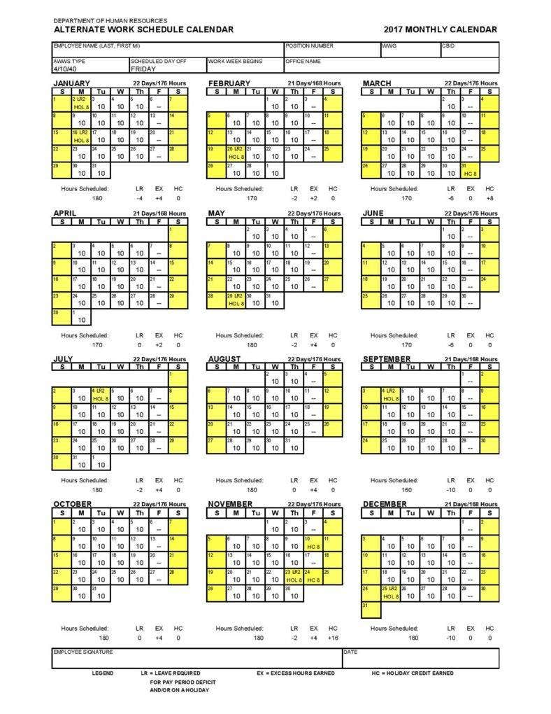 alternate work schedule calendar template page 001 788x1020
