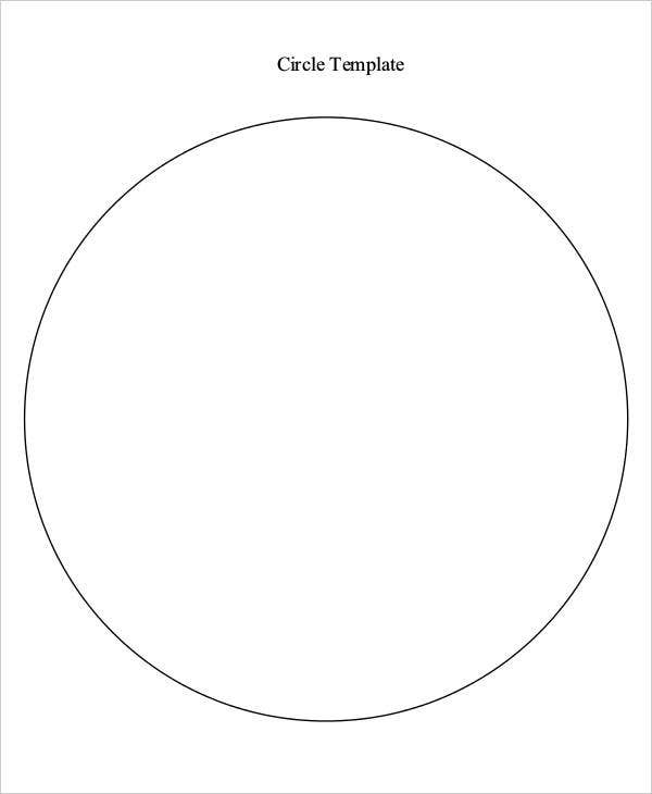 photo regarding Printable Circle identified as 11+ Circle Template Totally free Quality Templates