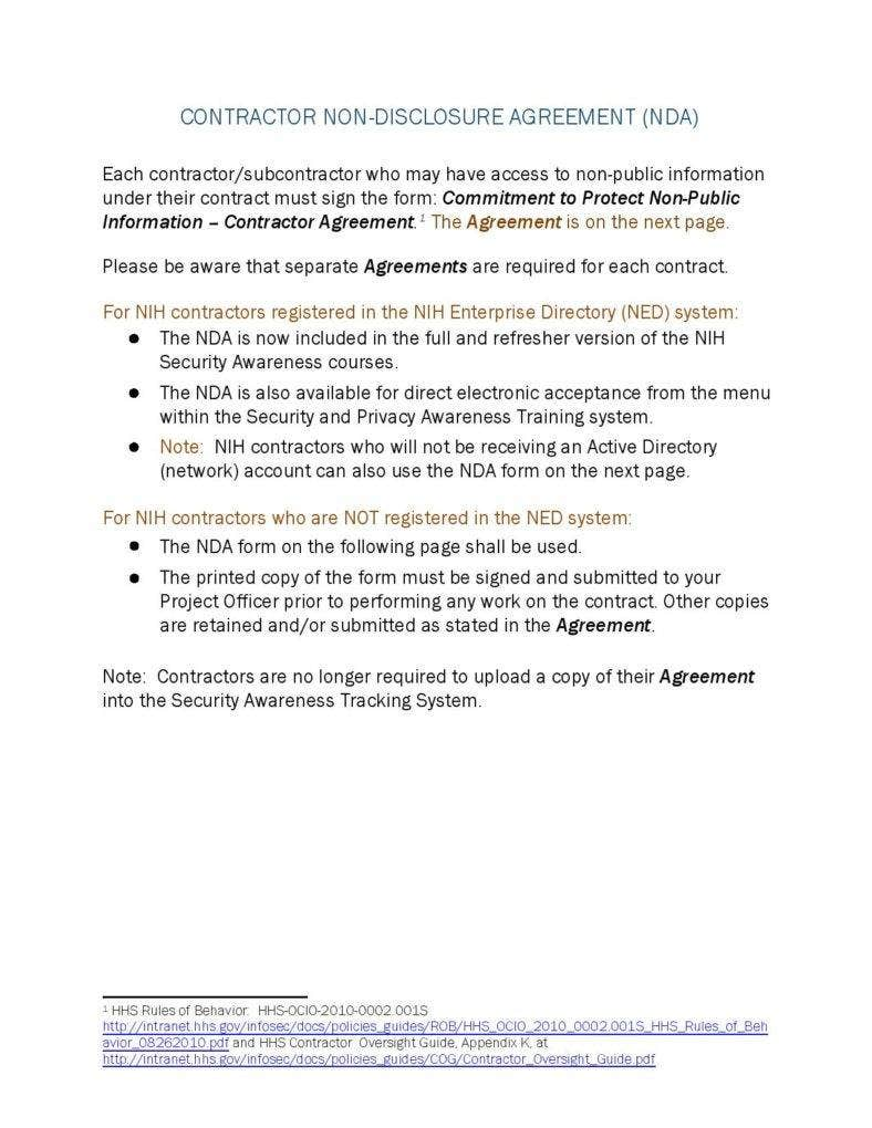 contractor-non-disclouser-agreement-sample-pdf-file-page-001