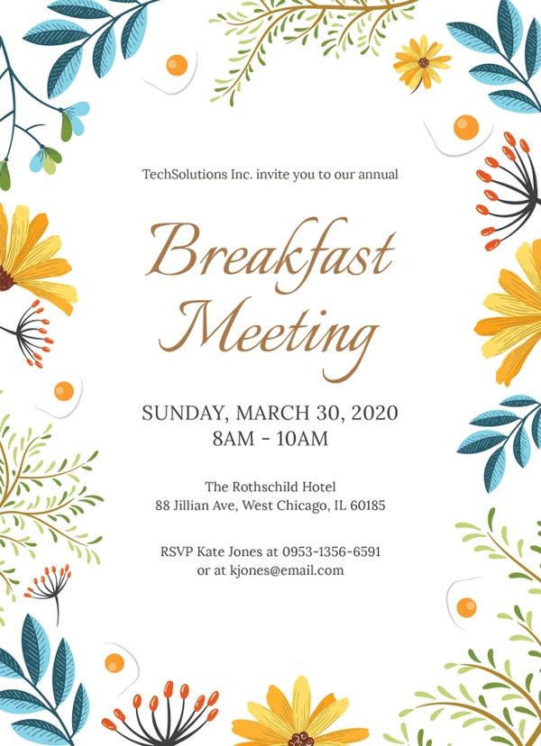 corporate-breakfast-invitation