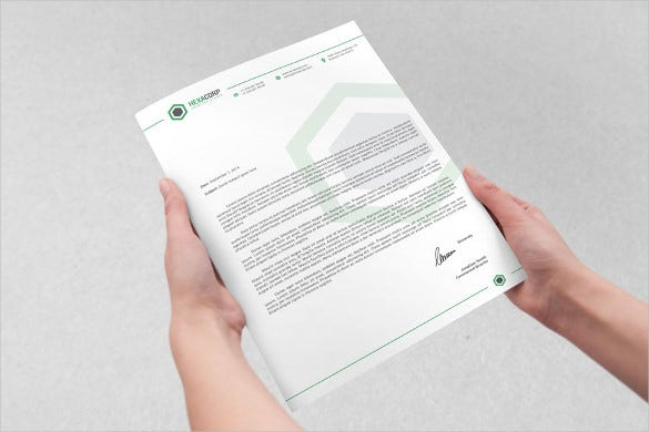 corporate letterhead template download