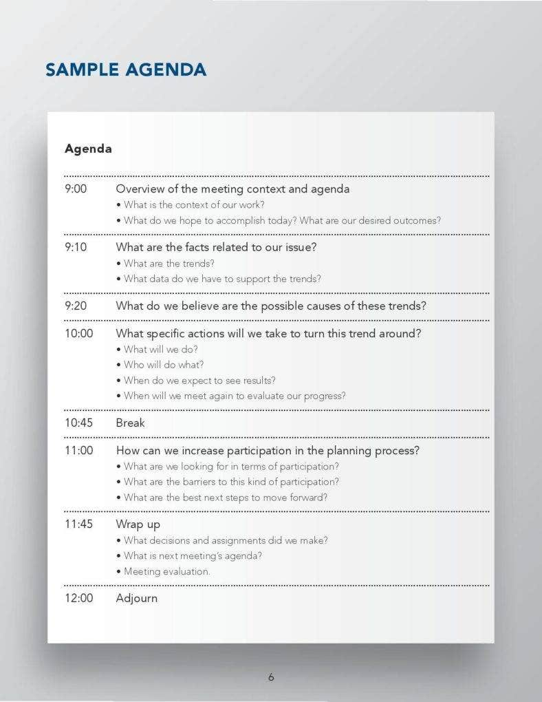 designing effective meeting agenda sample page 006 788x1020