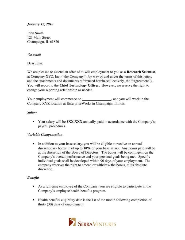 employment job offer letter 1 788x1020