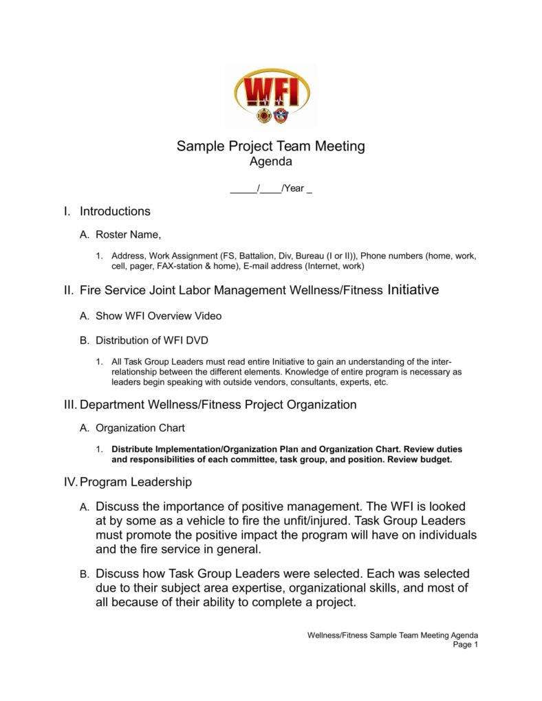 example project team meeting agenda template 1 788x1020