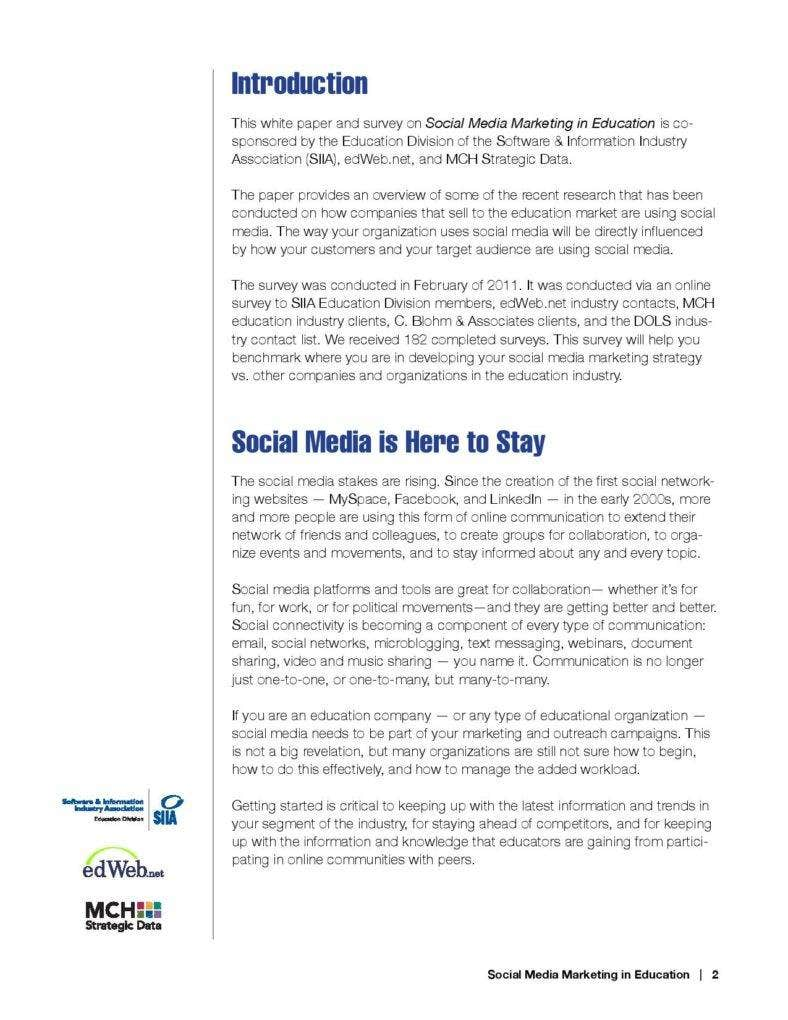 format of social media marketing plan in education free download page 002 788x1020