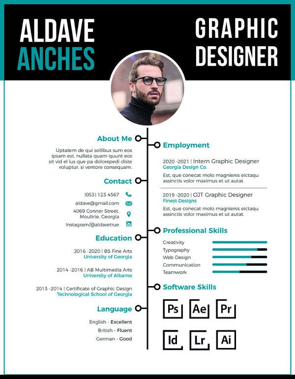 marketing fresher resume template