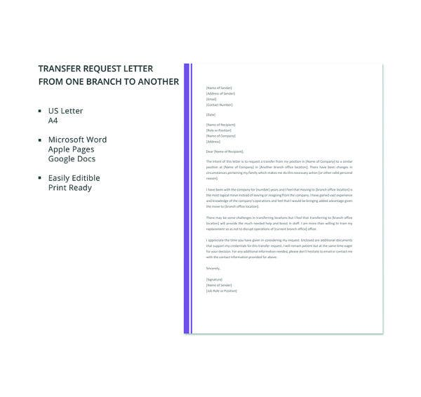 free-job-transfer-to-another-branch-request-letter-template