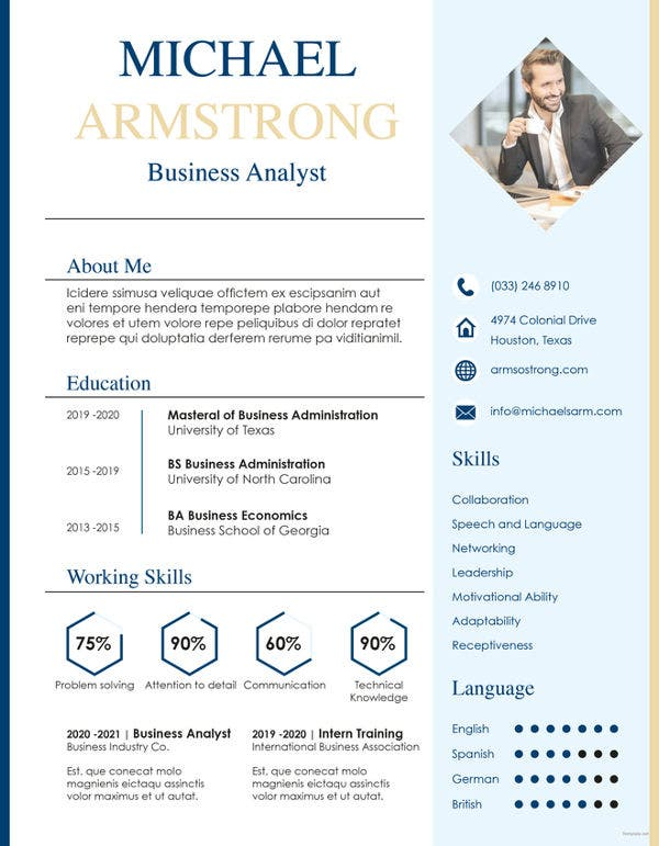 free-mba-fresher-resume-template