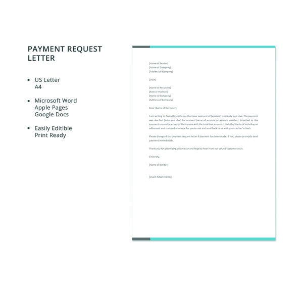 free-payment-request-letter-template