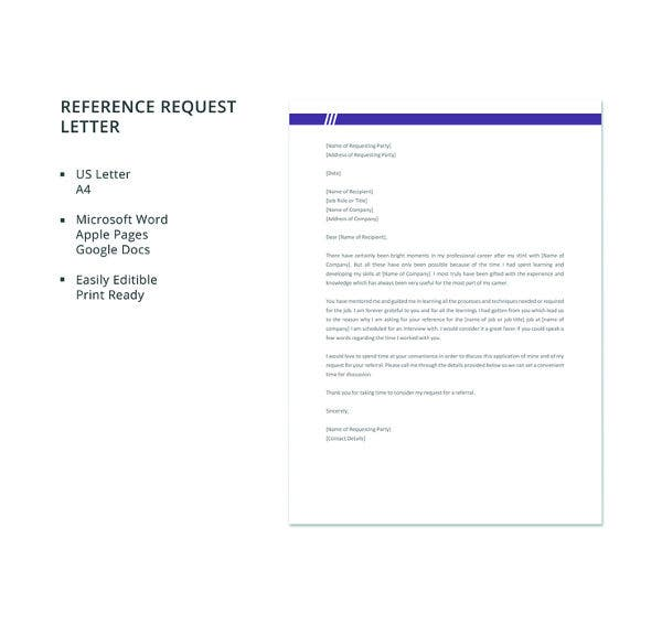 free-reference-request-letter-template