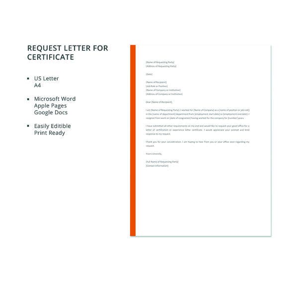free-request-letter-for-certificate-template