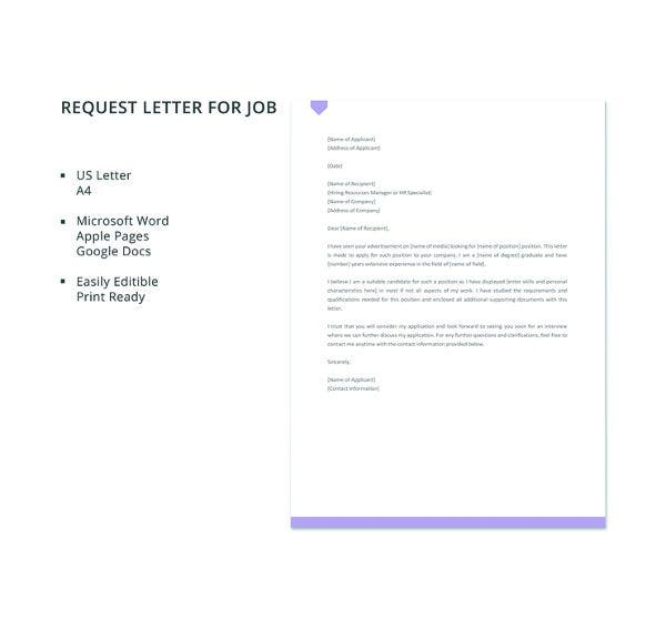 free-request-letter-for-job-template