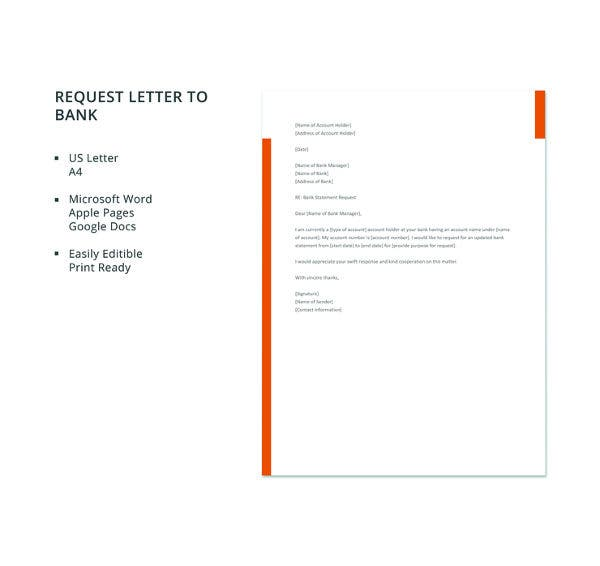 free-request-letter-to-bank-template