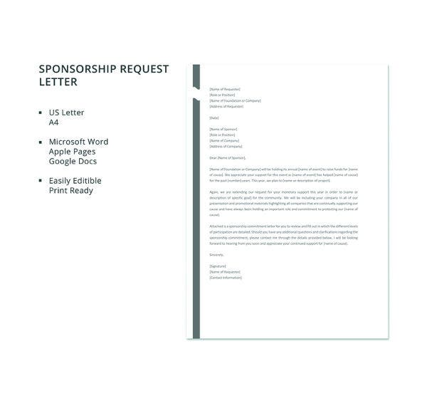 free-sponsorship-request-letter-template