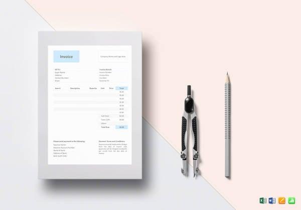 general invoice