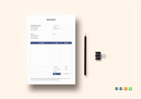 invoice-format