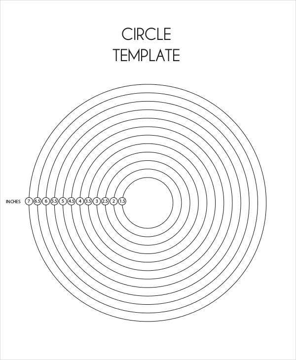 photo relating to Printable Circle identify 11+ Circle Template Totally free High quality Templates