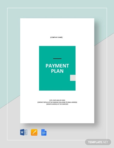 payment plan template1