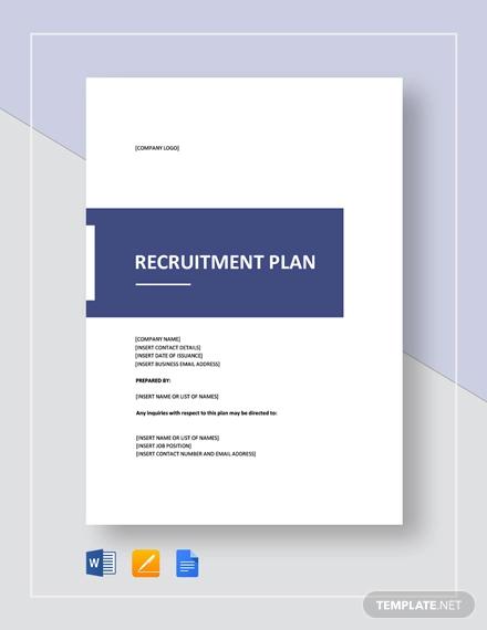 recruitment plan template2