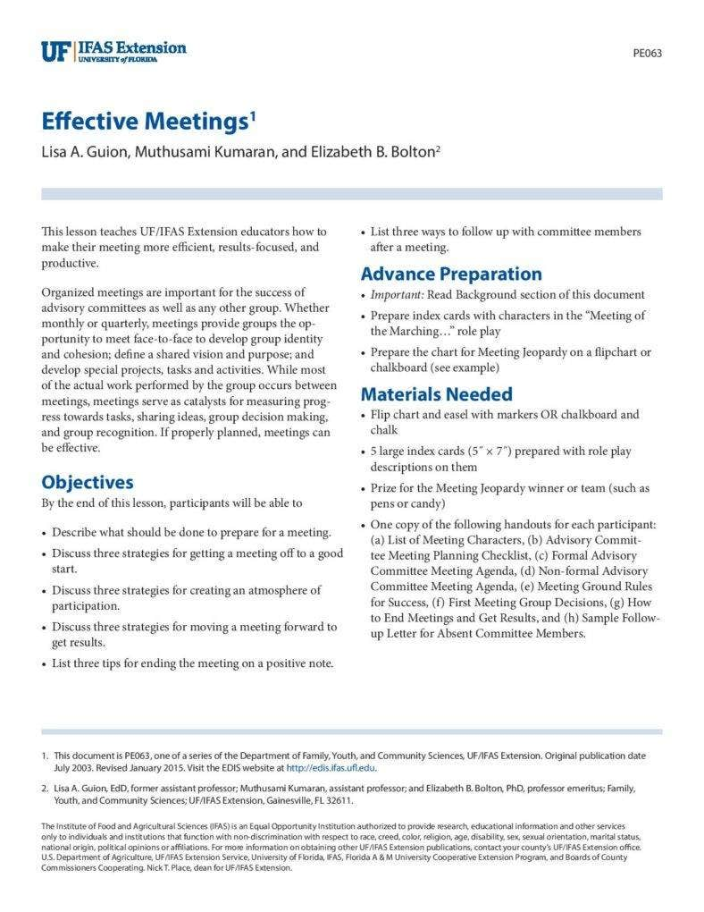 sample effective meeting agenda template for formal and informal meeting page 001 788x1020