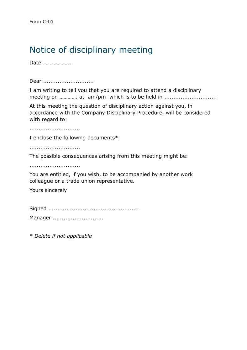 sample-letter-employee-disciplinary-meeting-1