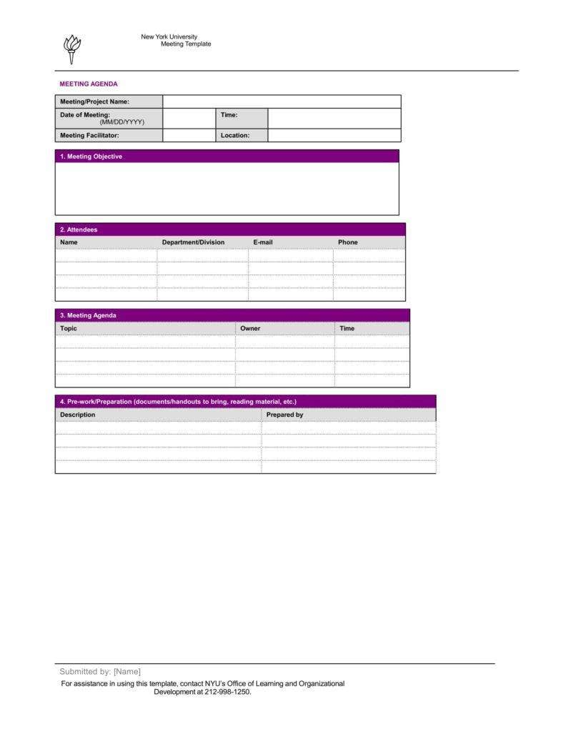 simple meeting agenda template 1 788x1020