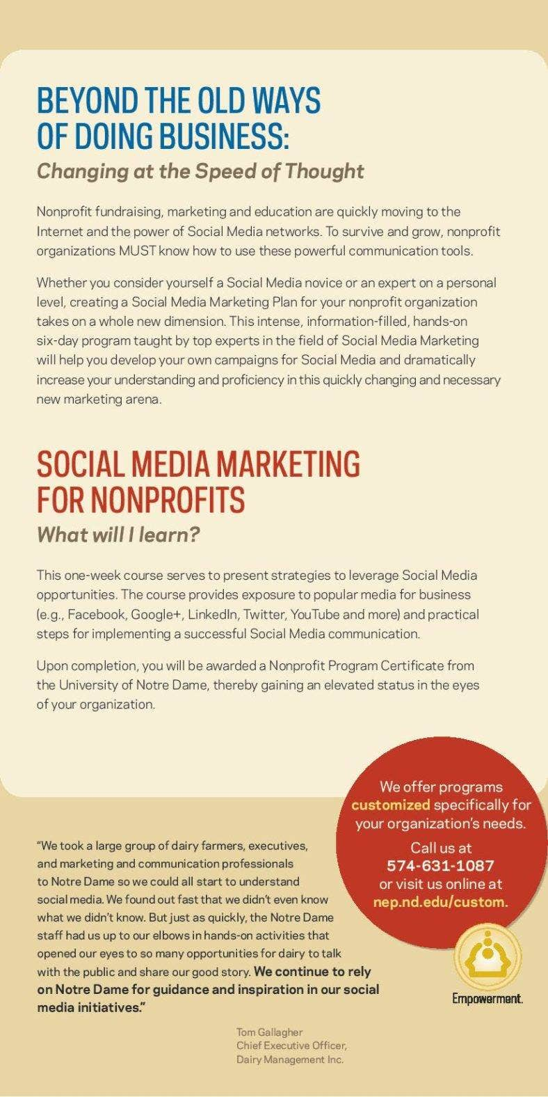 The power of social media marketing in small business for Nonprofit social media strategy template
