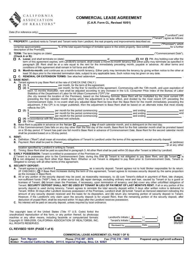 standard-commercial-lease-agreement-page-001