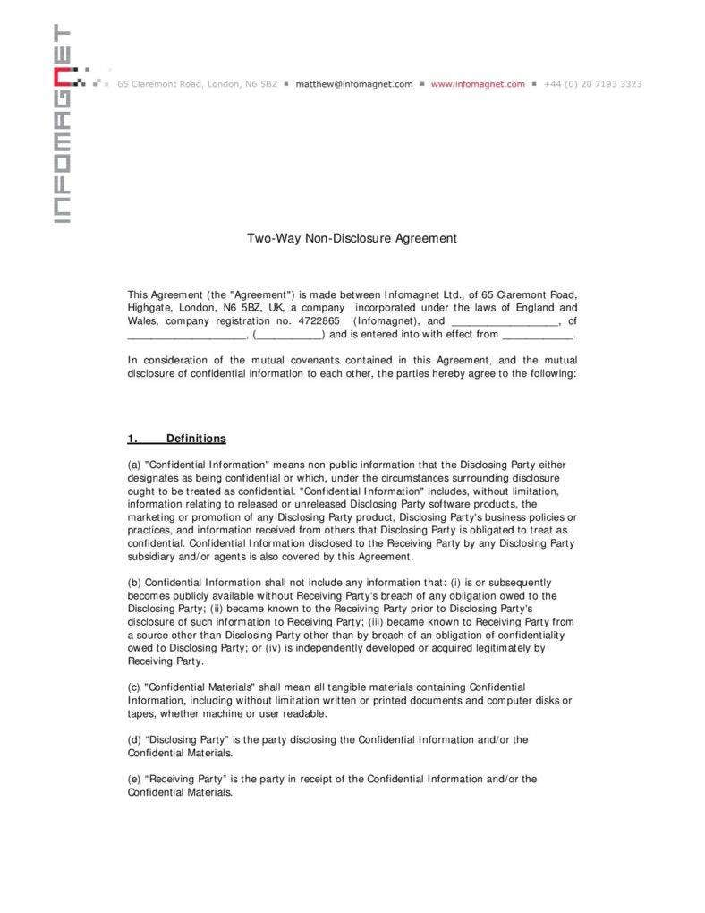 two-way-non-disclosure-agreement-template-page-001