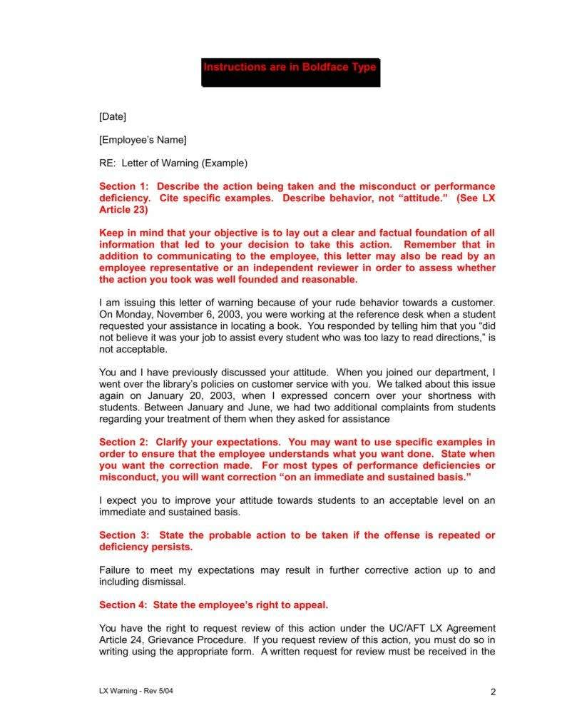 warning-letter-to-business-partner-template-2
