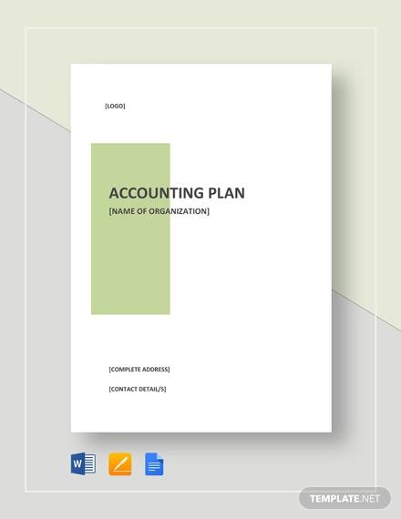 accounting plan