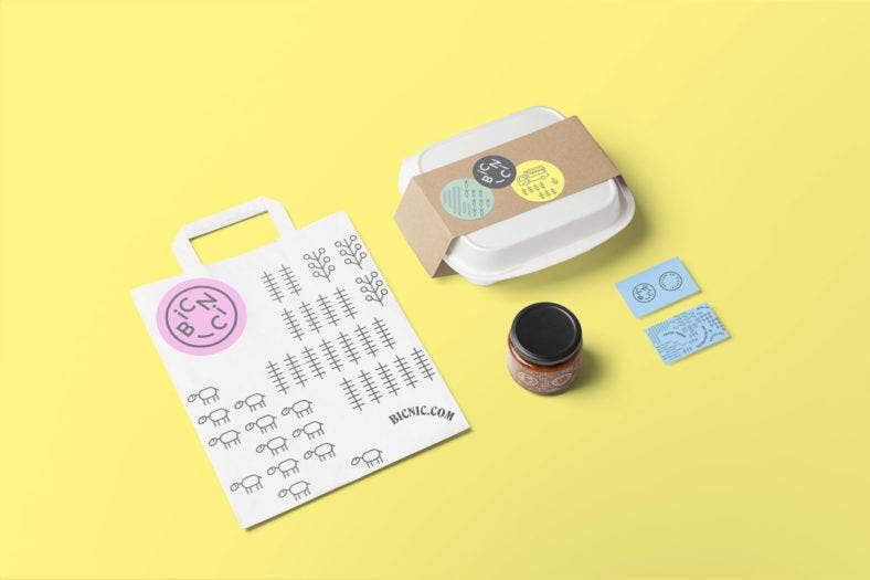 bicnic-stationery