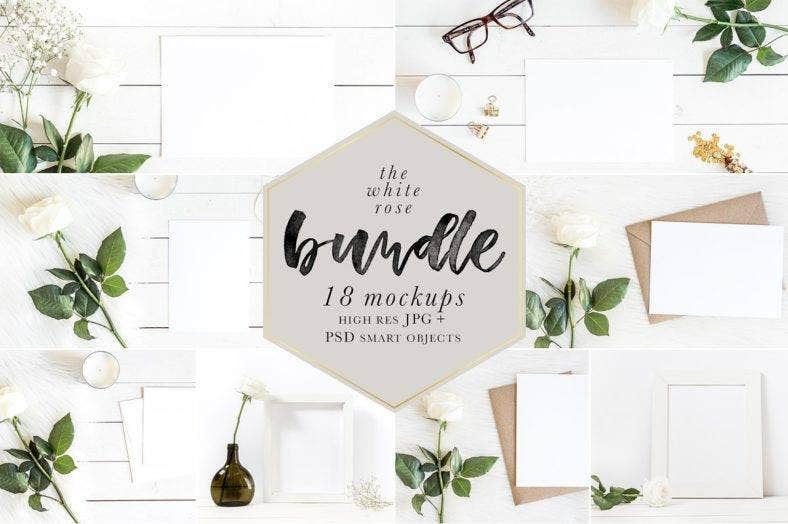 bundle 04 white rose mockups  788x524