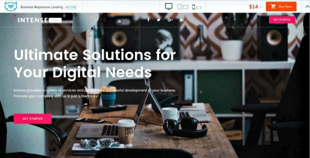 10 Amazing Business Landing Page Templates Examples