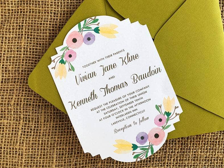 diy-watercolor-flowers-wedding-invitation