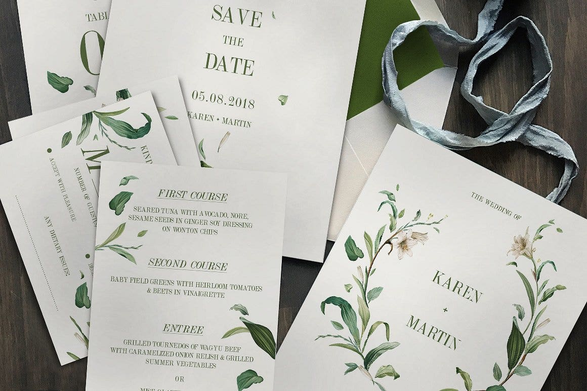 greenfoliageweddinginvitation2