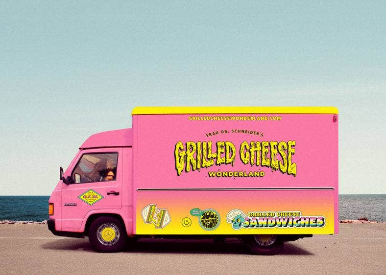 Grilled Cheese Wonderland
