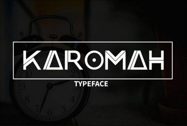 karomahtypeface