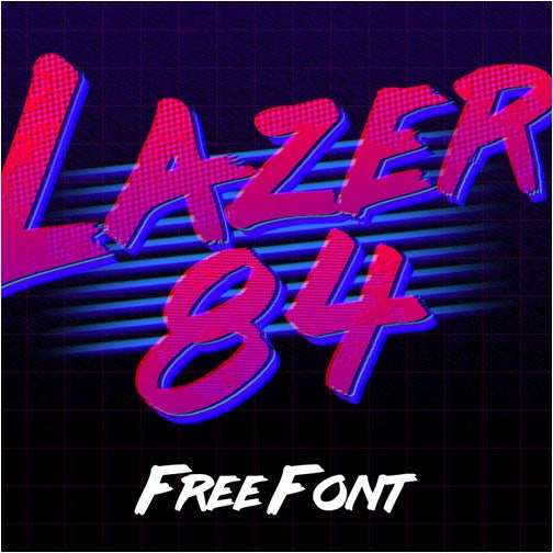 25+ Retrowave Fonts For Creatives