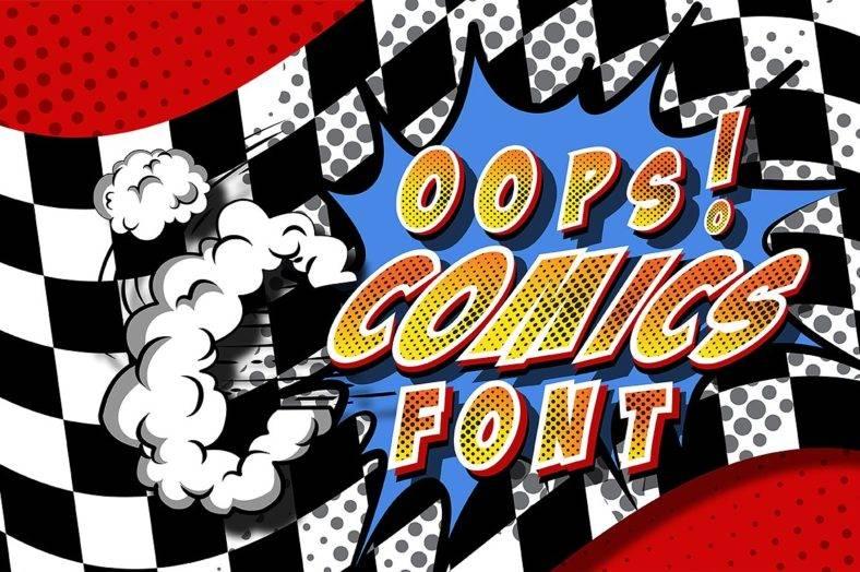 oops-comic-font