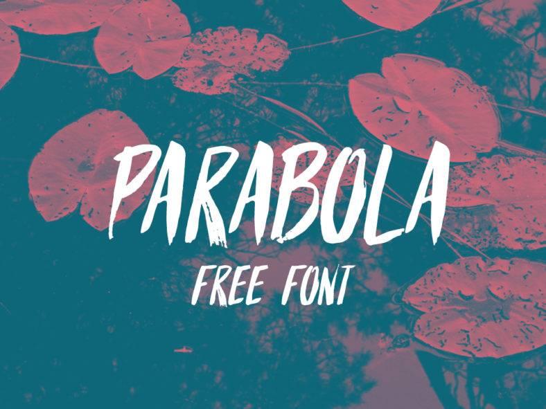parabola-free-font