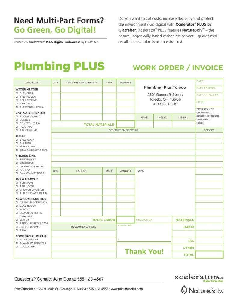 4 tips on dealing with late invoice payments free premium plumbing invoice form download free