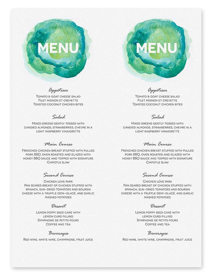 printable-aqua-watercolour-wedding-menu-template-2