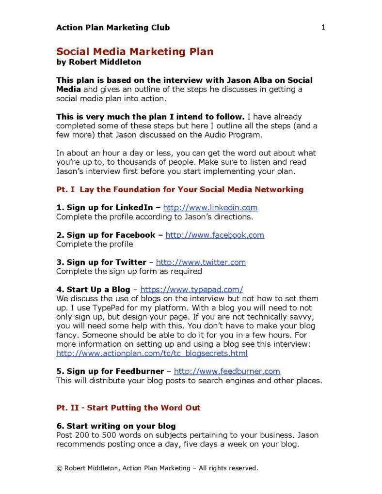 social media marketing plan sample page 001 788x1020