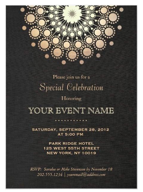 modern grand opening invitation