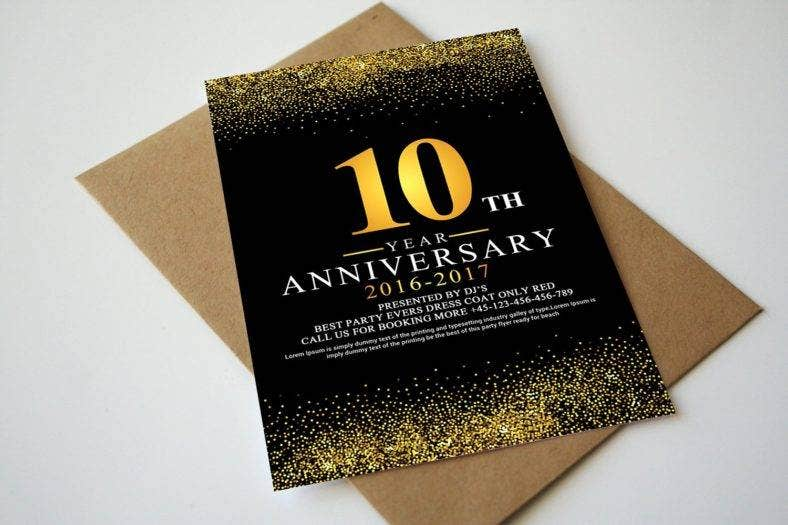 25  anniversary invitation designs  u0026 templates