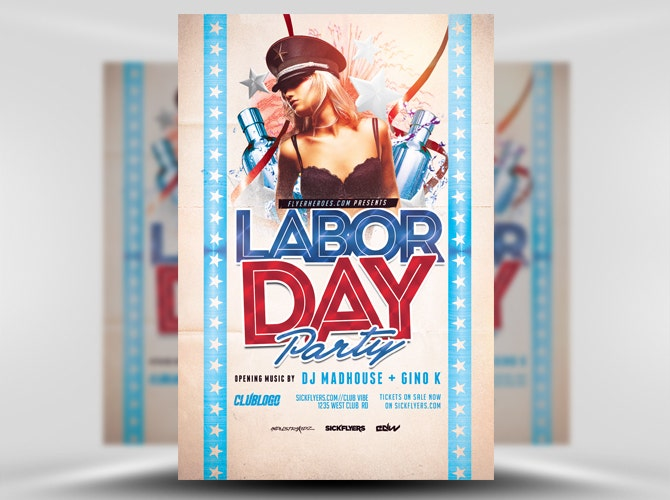 30 Labor Day Party Flyer Template - PSD, JPEG, PNG | Free & Premium ...